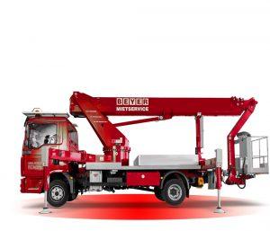 Presentacion camión cesta de alquiler - Xmaq